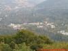 Blick auf das SWR-Gelände vom Fernmeldeturm Baden-Baden/Fremersberg