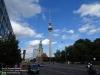 Fernsehturm Berlin/Alexanderplatz am 29. Juli 2017