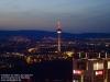 Europaturm in Frankfurt am Main am 07. April 2018