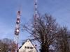 BR-Sender Hühnerberg bei Harburg (Schwaben) am 25. November 2012