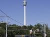 Fernsehturm Stuttgart am 22. August 2015